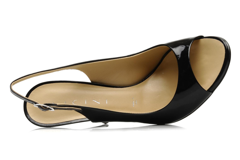 Sandales et nu-pieds Vicini Vrille Noir vue gauche
