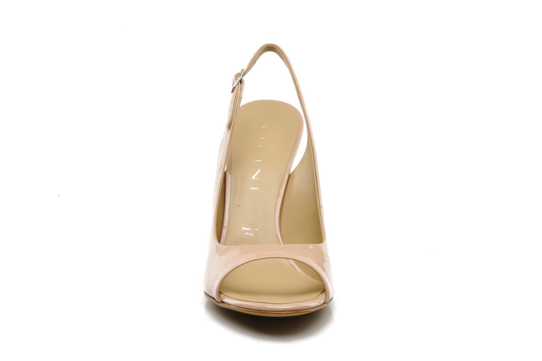 Sandales et nu-pieds Vicini Vrille Rose vue portées chaussures