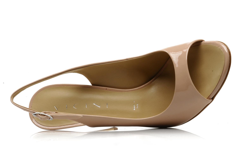 Sandales et nu-pieds Vicini Vrille Rose vue gauche