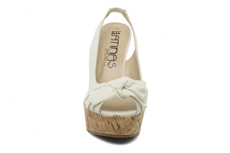Sandalen Latinas Lignee beige schuhe getragen