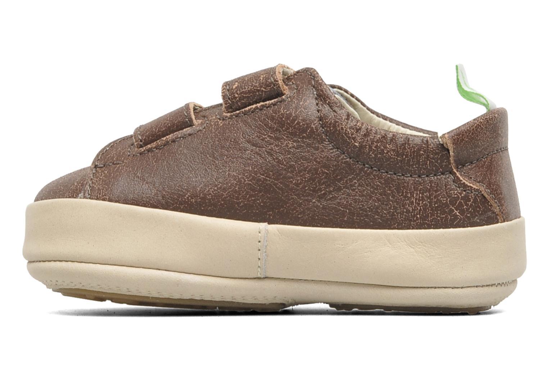 Sneakers Tip Toey Joey New Flashy Bruin voorkant