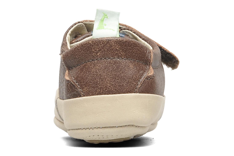 Sneakers Tip Toey Joey New Flashy Bruin rechts