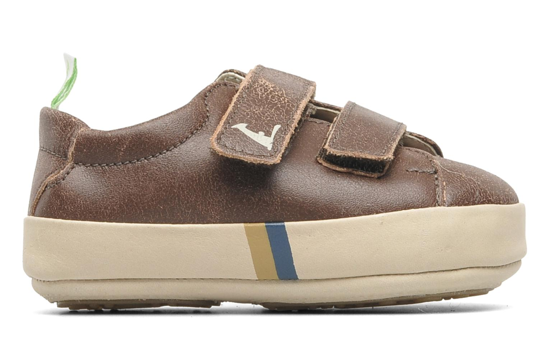 Sneakers Tip Toey Joey New Flashy Bruin achterkant