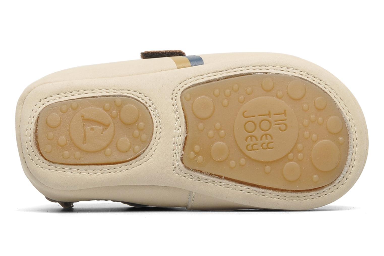 Sneakers Tip Toey Joey New Flashy Bruin boven
