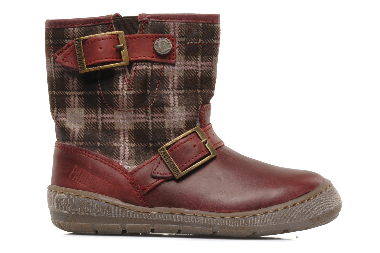 Bottines et boots Palladium Botto Mix Bordeaux vue derrière