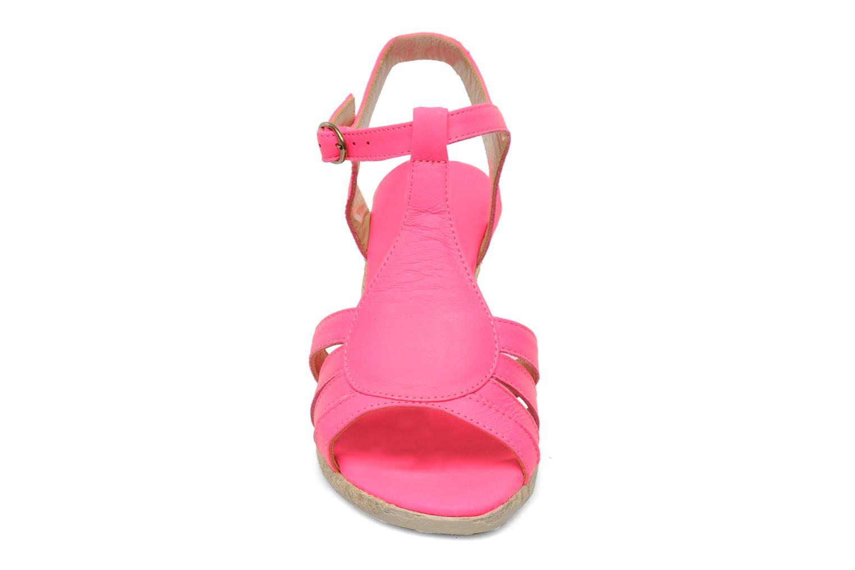 Sandales et nu-pieds Pare Gabia Assana Rose vue portées chaussures