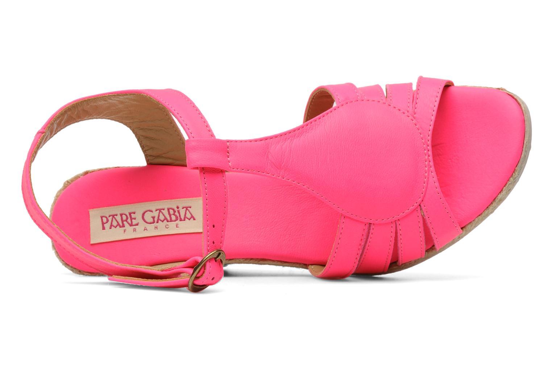 Sandales et nu-pieds Pare Gabia Assana Rose vue gauche