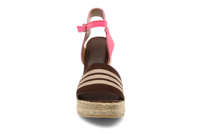 Sandales et nu-pieds Pare Gabia Ossia Marron vue portées chaussures