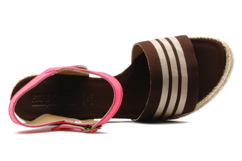 Sandales et nu-pieds Pare Gabia Ossia Marron vue gauche