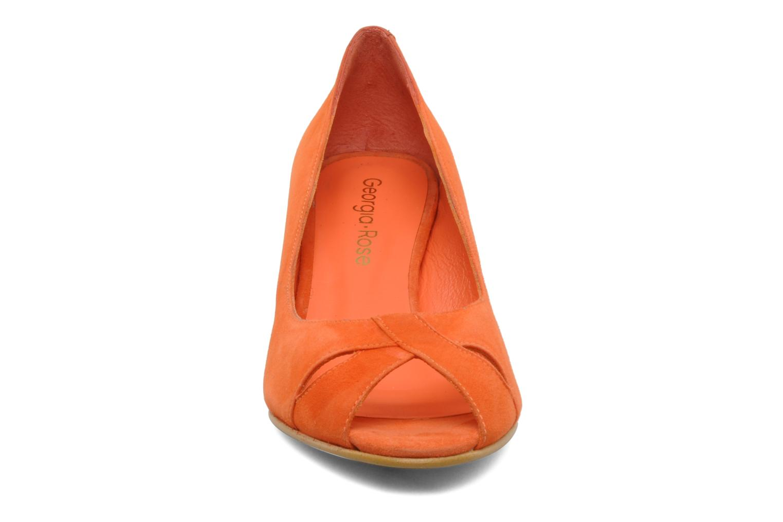 High heels Georgia Rose Magui Orange model view
