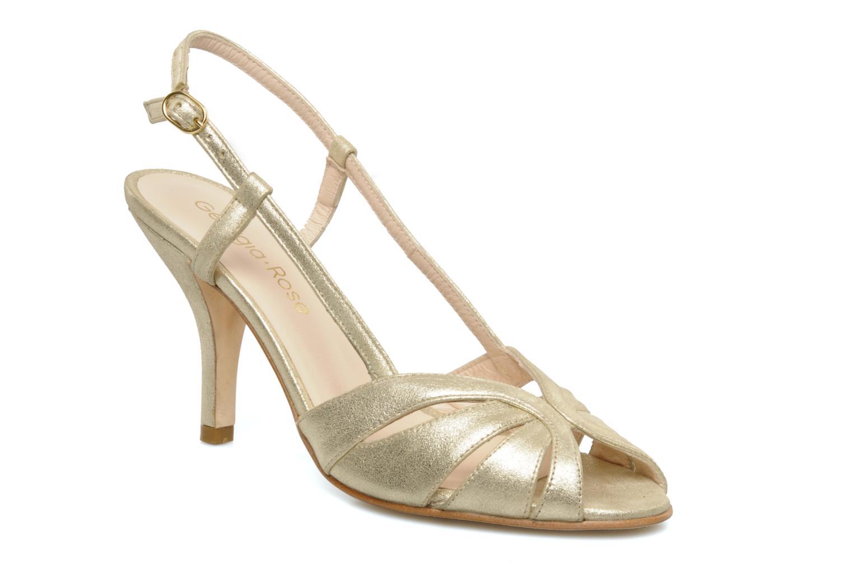 Sandals Georgia Rose Maraki Bronze and Gold detailed view/ Pair view