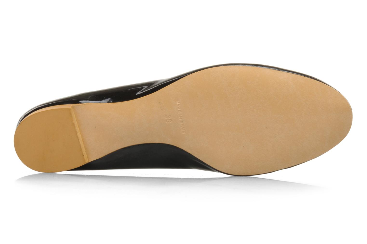 Ballet pumps Georgia Rose Maora Black view from above
