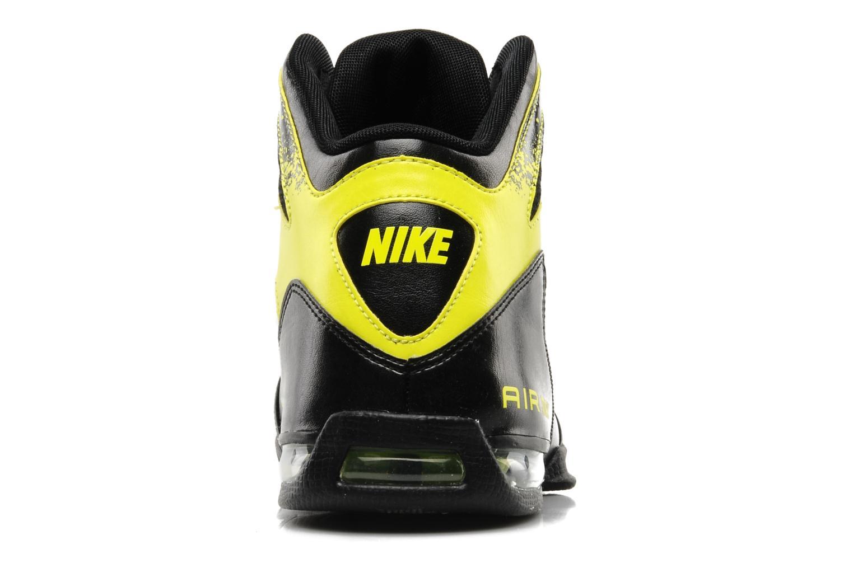 Sportschuhe Nike Air max full court 2 nt schwarz ansicht von rechts
