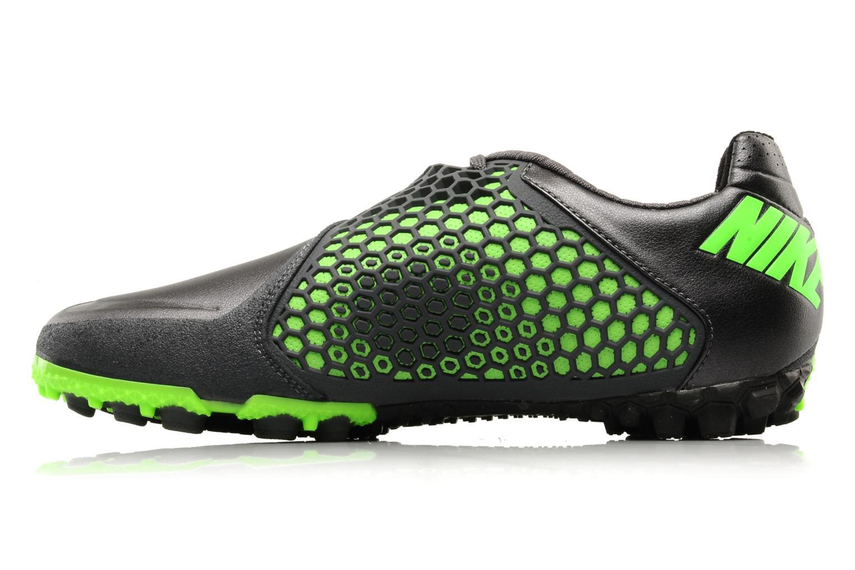 Nike bomba finale Mtlc fark grey/electric green