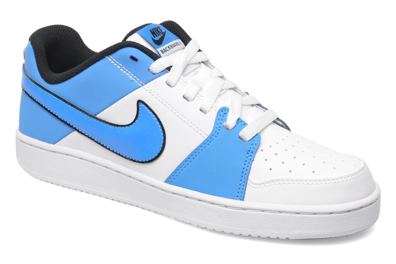 Baskets Nike Nike backboard ii Blanc vue détail/paire