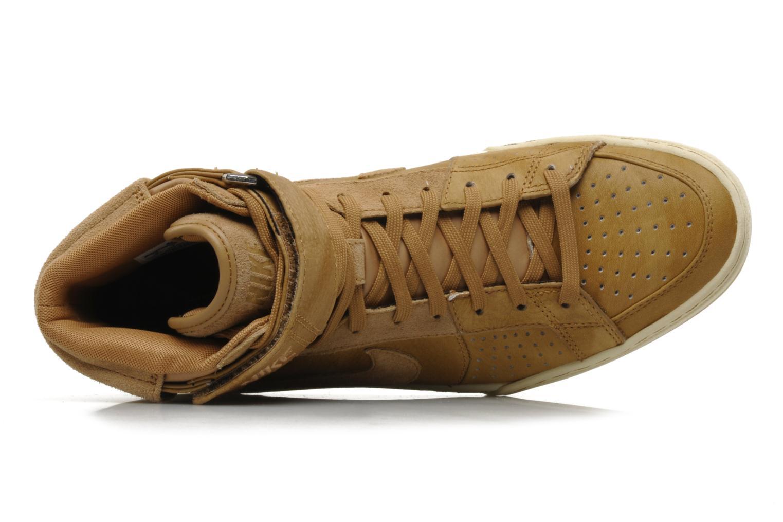 Sneakers Nike Nike air flytop Beige immagine sinistra
