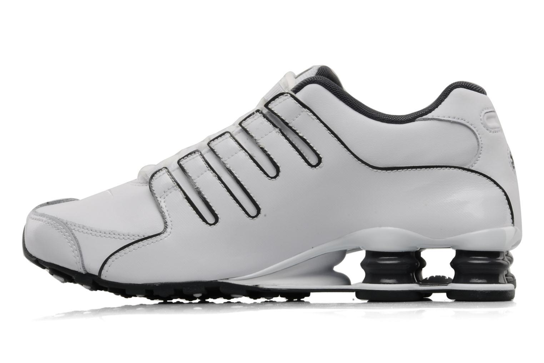 Scarpe sportive Nike Nike shox nz eu Bianco immagine frontale