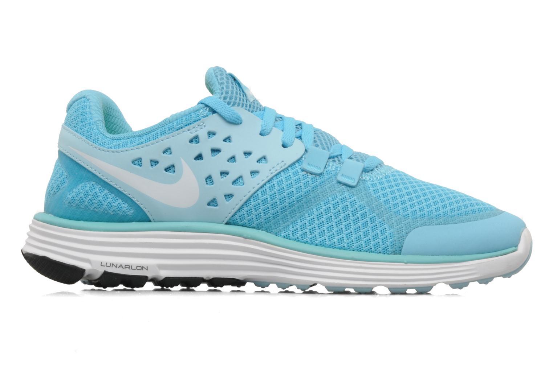 Scarpe sportive Nike Wmns nike lunarswift+ 3 Azzurro immagine posteriore