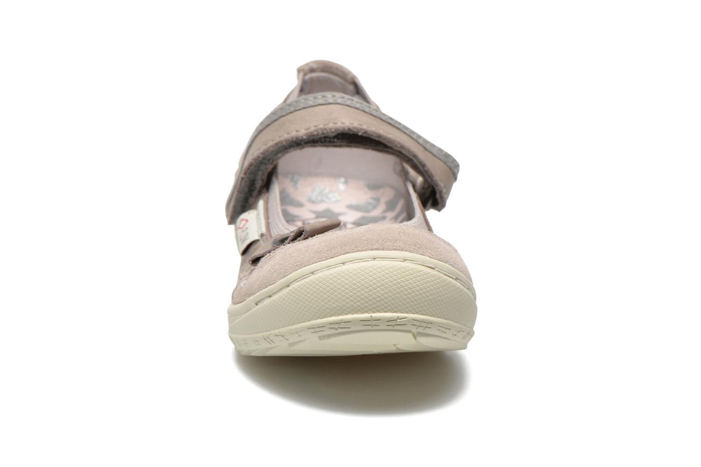Ballerines P-L-D-M By Palladium Doris Gris vue portées chaussures
