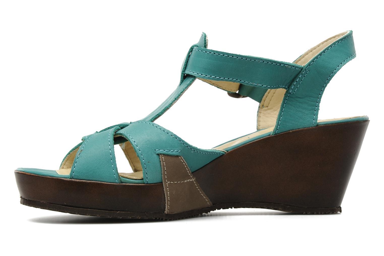 Sandales et nu-pieds Sergio Tomani Mula 3903 Bleu vue face