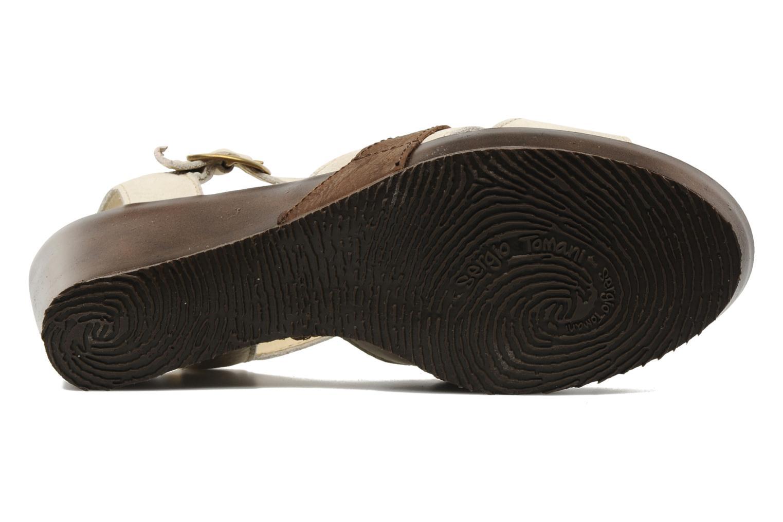 Sandalen Sergio Tomani Mula 3903 Beige boven