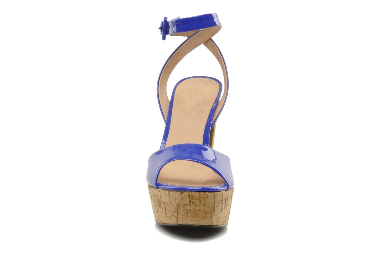 Sandales et nu-pieds Pour La Victoire Nasha Bleu vue portées chaussures