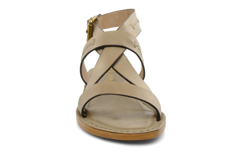 Sandales et nu-pieds Pour La Victoire Mariza Gris vue portées chaussures