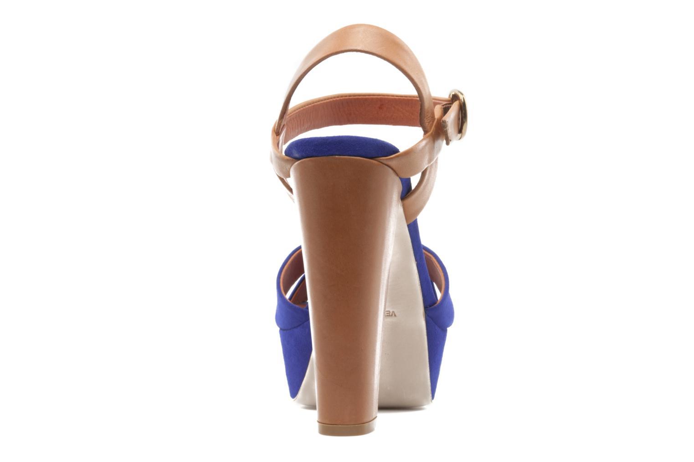 Sandales et nu-pieds Pour La Victoire Neysa Bleu vue droite
