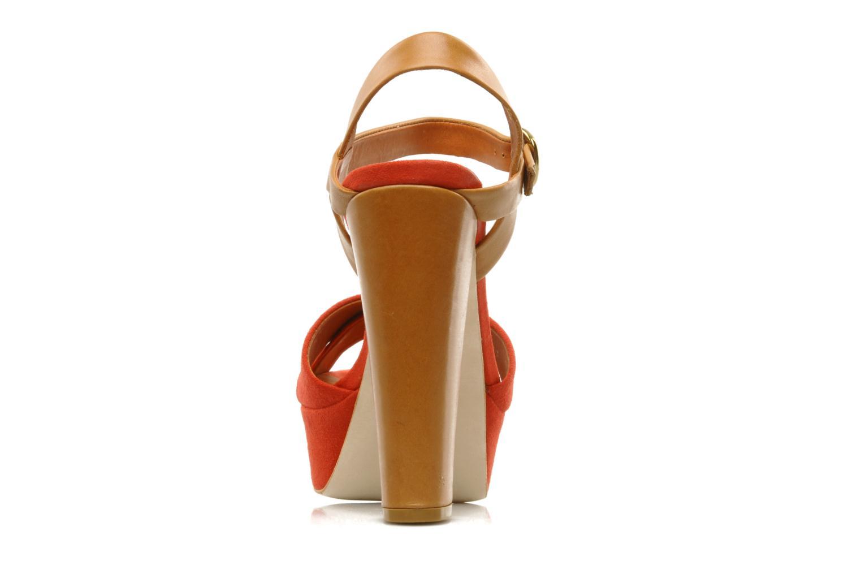 Sandalen Pour La Victoire Neysa rot ansicht von rechts