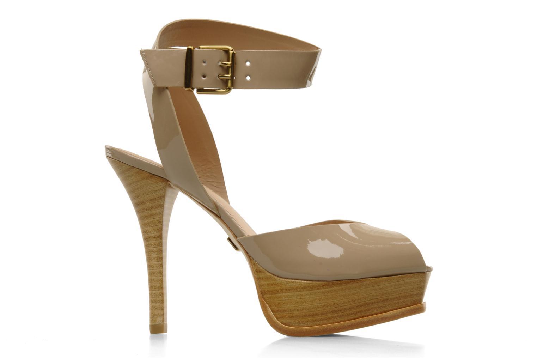 Sandales et nu-pieds Pour La Victoire Taryn Beige vue derrière