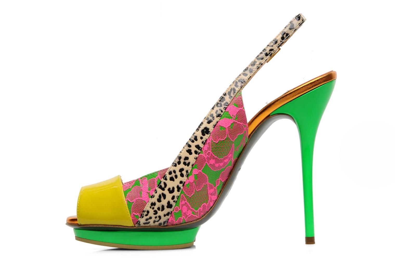 Sandals Ernesto Esposito Eba Multicolor front view
