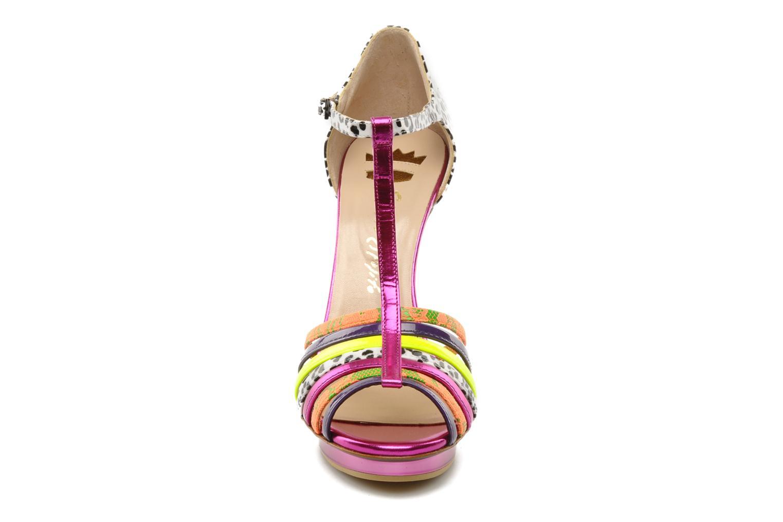Sandalen Ernesto Esposito Edme mehrfarbig schuhe getragen