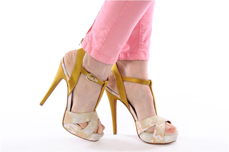 Sandalen Missoni Mabelle mehrfarbig ansicht von unten / tasche getragen