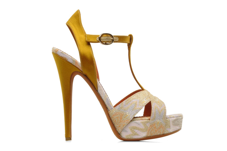 Sandalen Missoni Mabelle mehrfarbig ansicht von hinten