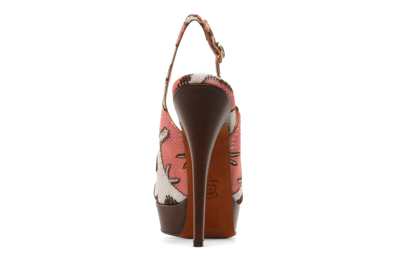 Sandales et nu-pieds Missoni Meissa Multicolore vue droite