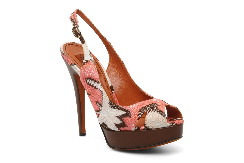 Sandales et nu-pieds Missoni Meissa Multicolore vue détail/paire