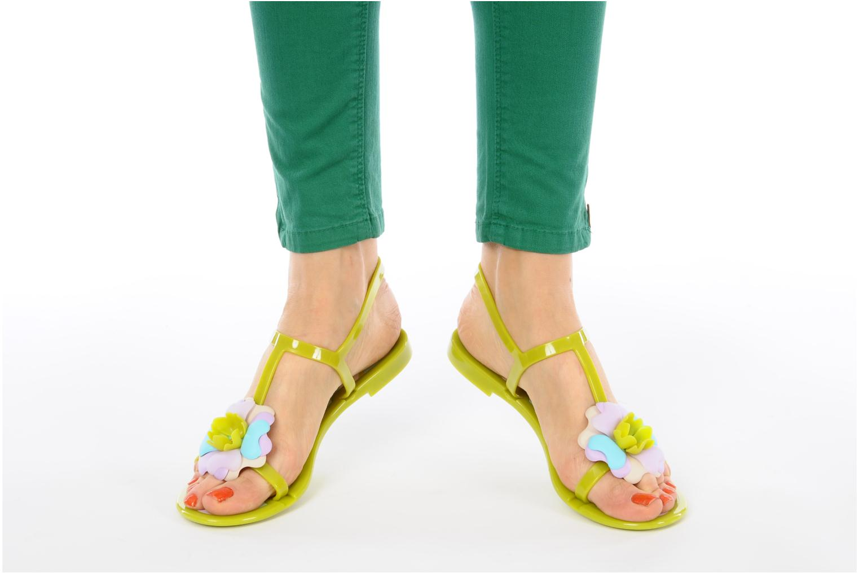 Sandali e scarpe aperte Missoni Melise Verde immagine dal basso
