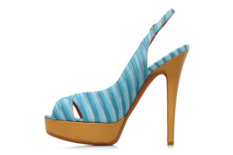 Sandales et nu-pieds Missoni Miranie Multicolore vue face
