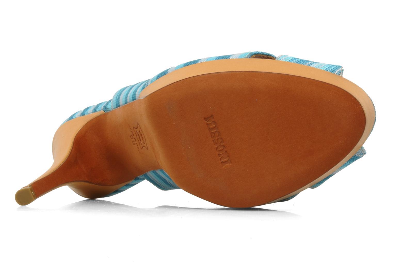 Sandales et nu-pieds Missoni Miranie Multicolore vue haut