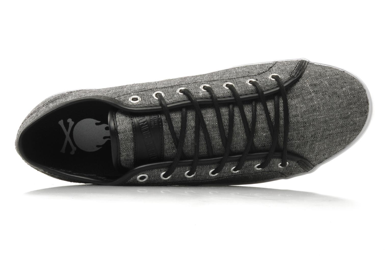 Sneakers Bobbie Burns Basic low textile M Grigio immagine sinistra