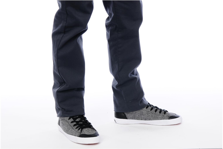 Hemp mid textile M Black