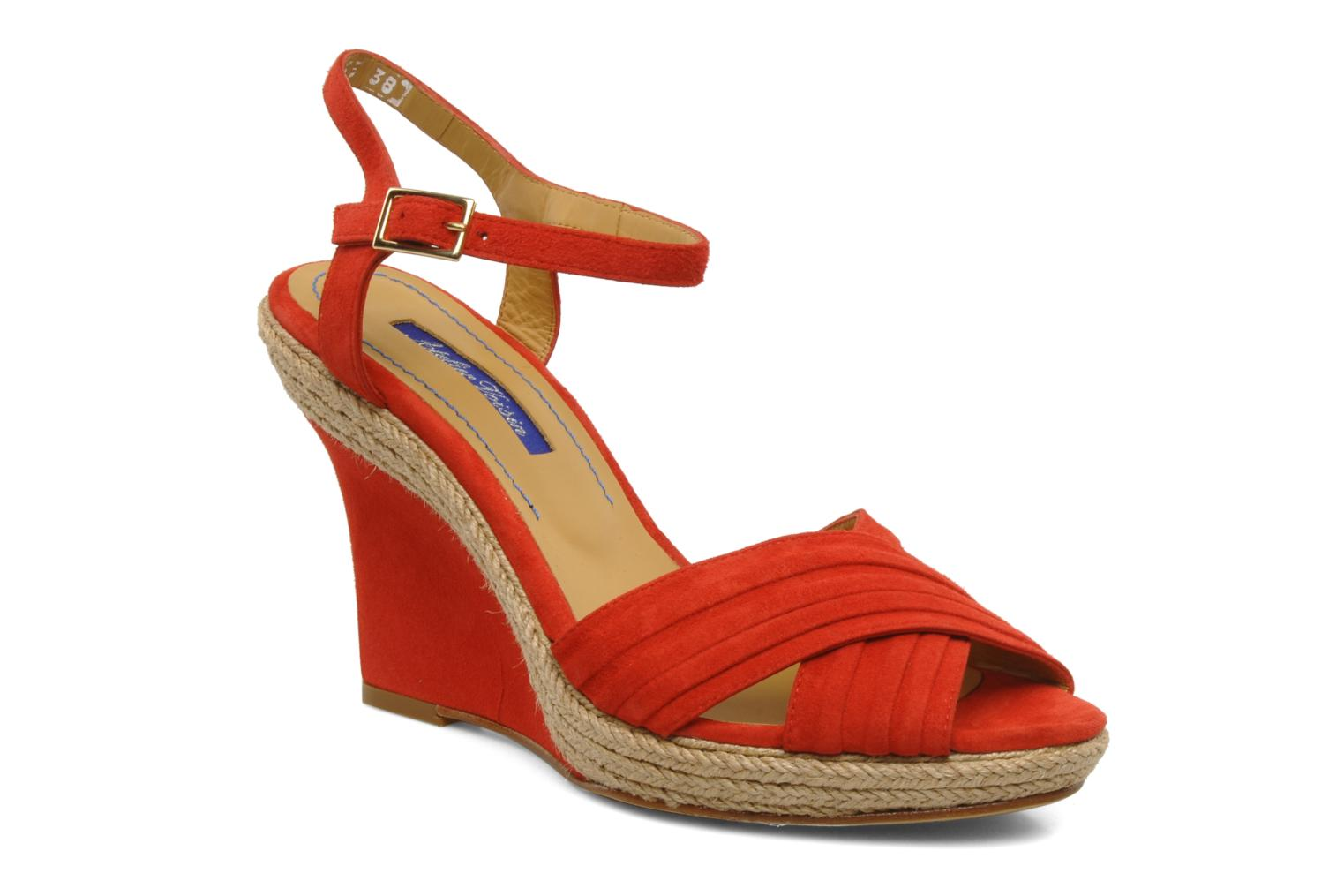 Alice Suede Rouge