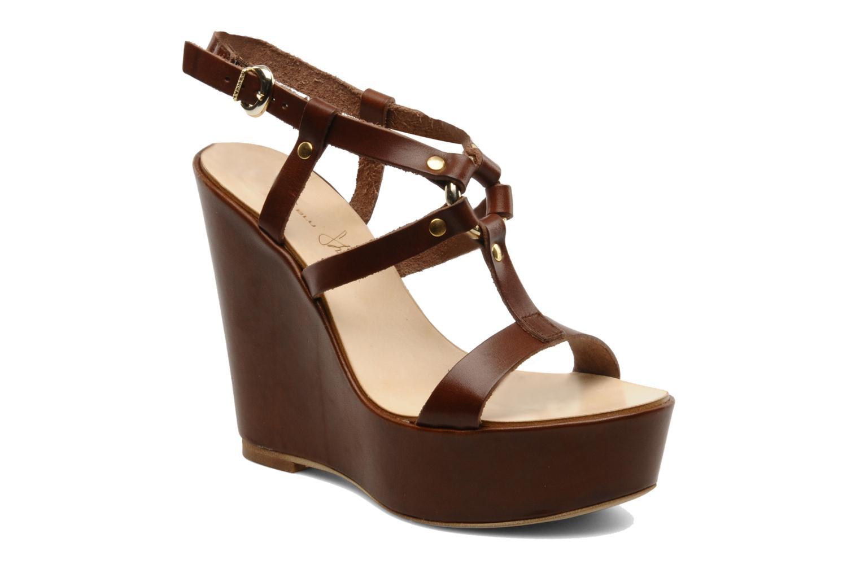 Sandalen Tosca Blu Shoes Girasole Bruin detail