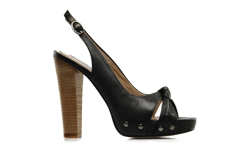 Sandalen Tosca Blu Shoes Ninfea schwarz ansicht von hinten