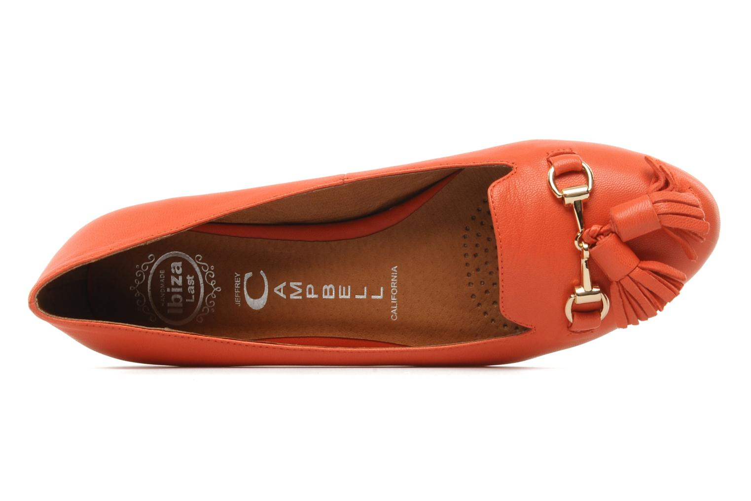 Loafers Jeffrey Campbell Mollie Orange view from the left