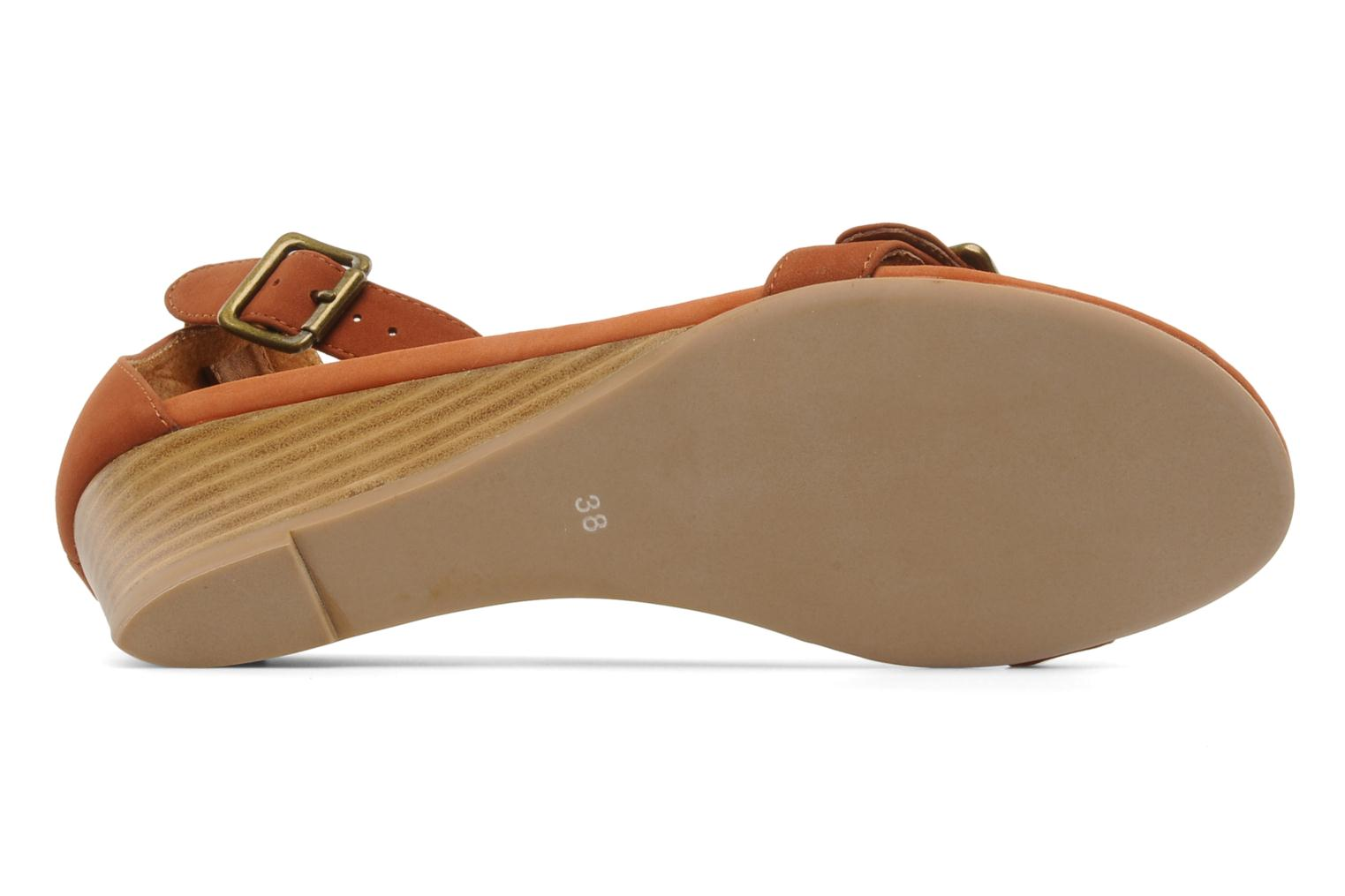 Sandals Jeffrey Campbell Barbary Spike Brown view from above