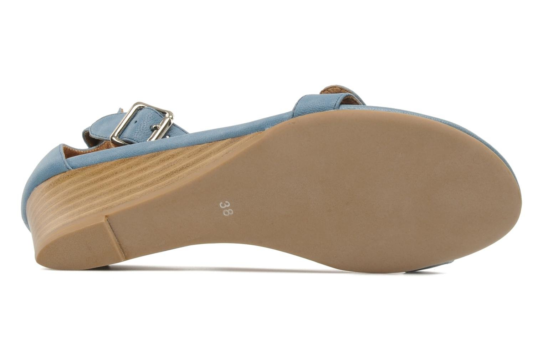 Sandales et nu-pieds Jeffrey Campbell Barbary Spike Bleu vue haut