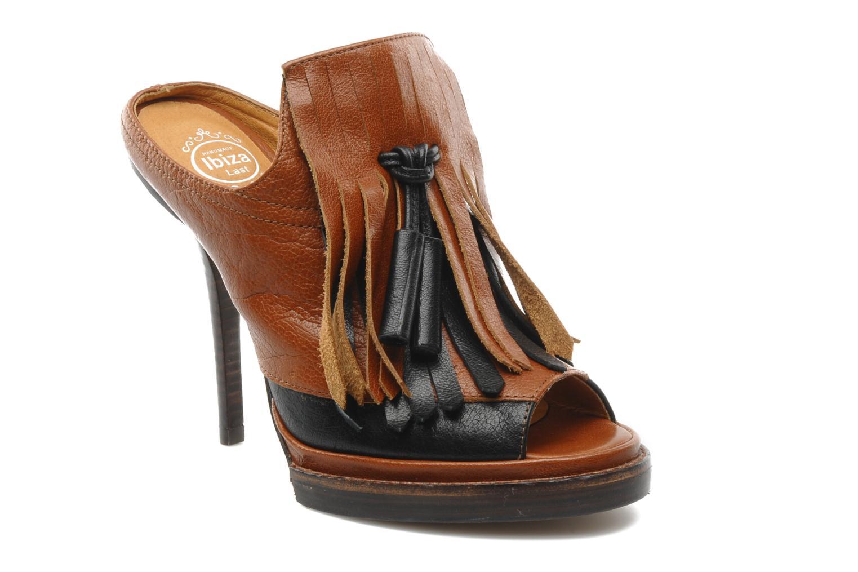 Clogs & Pantoletten Jeffrey Campbell McShane braun detaillierte ansicht/modell