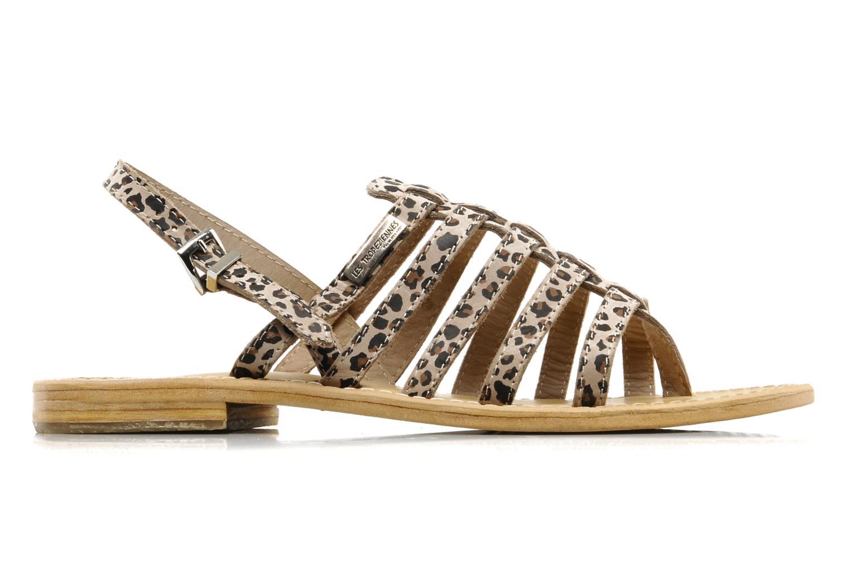 Sandalen Les Tropéziennes par M Belarbi Leopard mehrfarbig ansicht von hinten