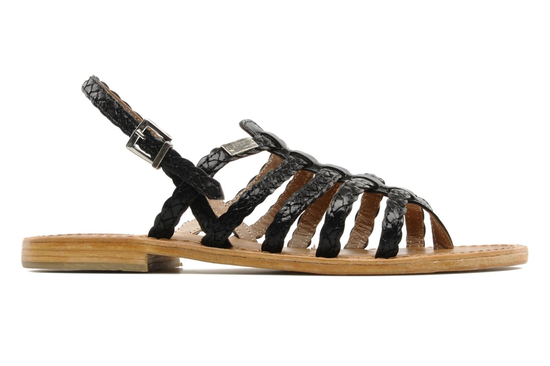 Sandales et nu-pieds Les Tropéziennes par M Belarbi Heritres Noir vue derrière